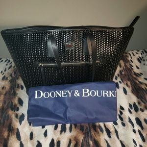 Dooney and Bourke Camden Woven Large Tote